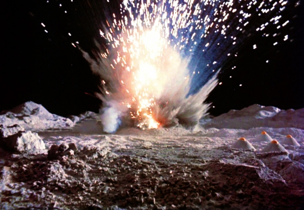 Explosions on the Moon