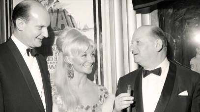 Gerry and Sylvia Anderson with Sir Lew Grade