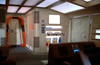 Inside an Eagle Transporter 2
