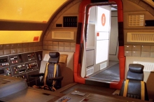Inside an Eagle Transporter