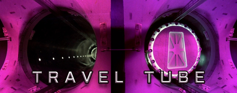 Moonbase Alpha Travel Tube