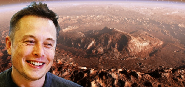 Elon Musk Wants to Take Humanity to Mars