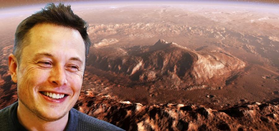 Elon Musk Wants to Take Humanity to Mars