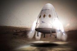 Space X Dragon Vehicle