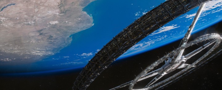 The space station Elysium from the film of the same name.