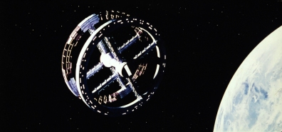 Space Station V in orbit of Earth - 2001: A Space Odyssey 1968