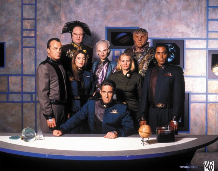 Babylon 5 Season 1 Cast Photo
