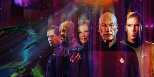 Star Trek Through The Years