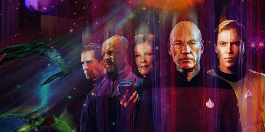Star Trek Through The Years