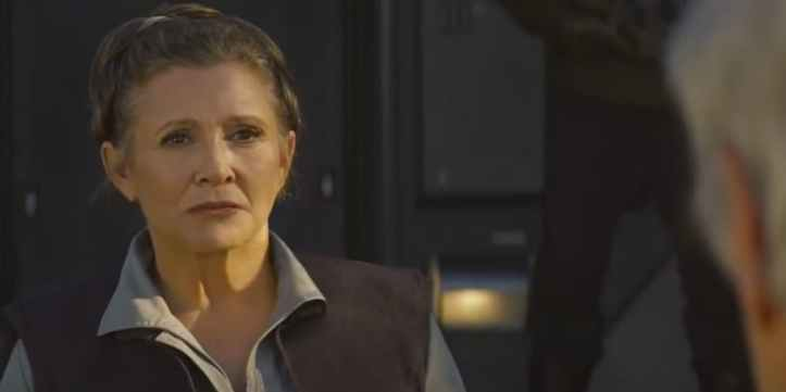 Leia and Han Reunite