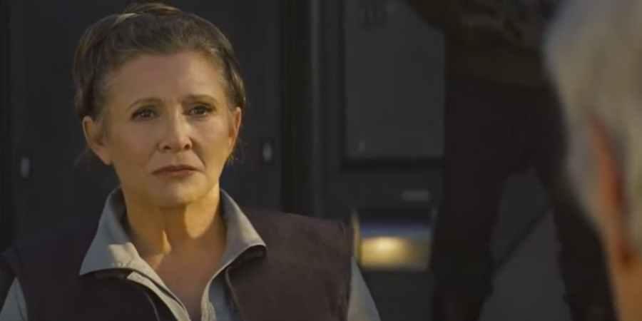 Leia and Han Reunite