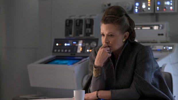 Leia Finally Grieves for Han
