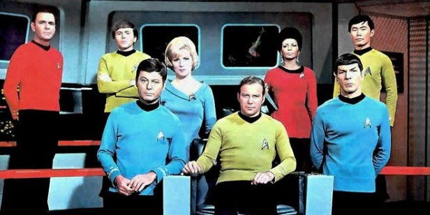 Star Trek The Original Series Whole Crew Photo
