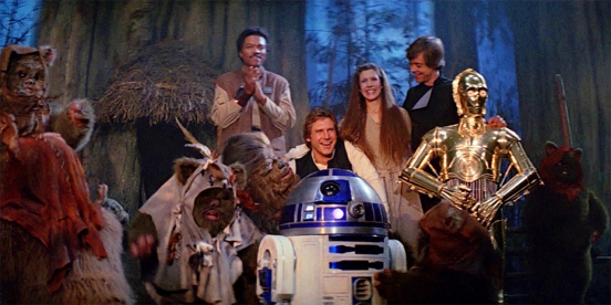 Star Wars Return of the Jedi Endor Celebration