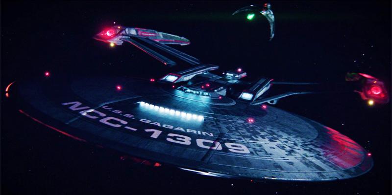 The USS Gagarin