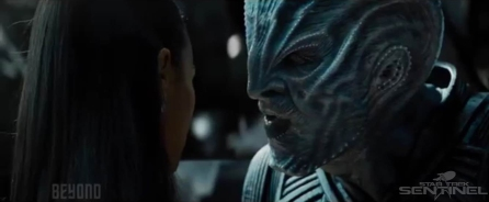 Uhura Faces Off Against the Enemy