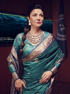 Shohreh Aghdashloo as Chrisjen Avasarala in the Expanse