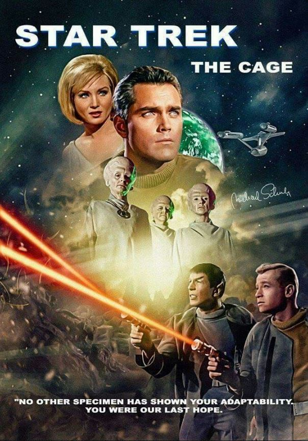 Star Trek The Cage Poster