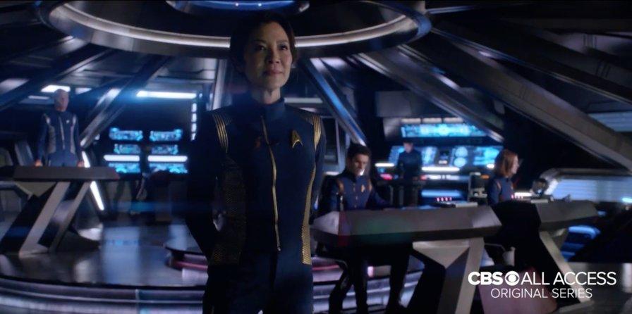Star Trek Discovery - On the Bridge