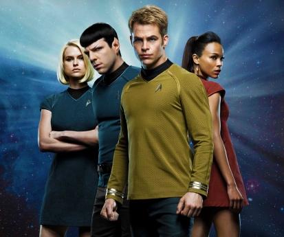 Carol Marcus Spock Kirk Uhura