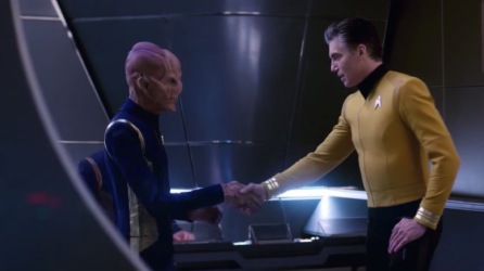 Pike Takes Command of the Discovery