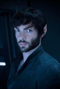 Bearded Spock, Ethan Peck