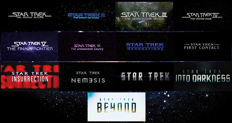 Star Trek Movies Through the Years