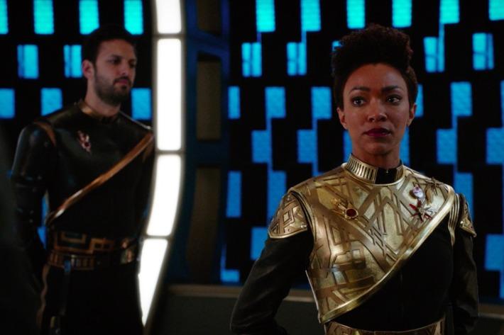 Captain Burnham and her Bodyguard, Ash