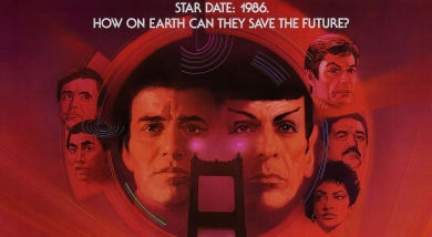 Star Trek IV The Voyage Home Movie Poster