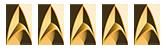 Five Starfleet Deltas