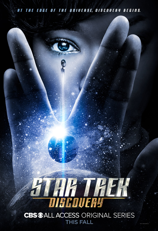Official Star Trek Discovery Launch Poster