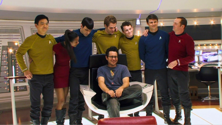 NuTrek Cast and JJ Abrams