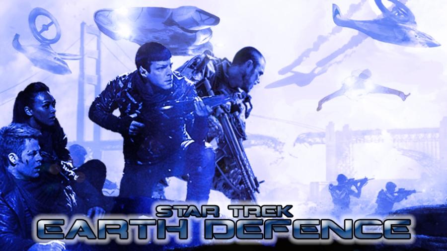 Star Trek Earth Defence Banner