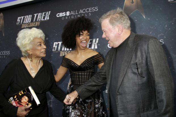 Nichelle, Sonequa and Bill