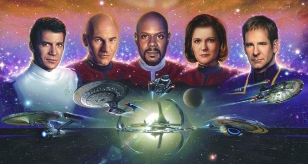 The Captains of Star Trek