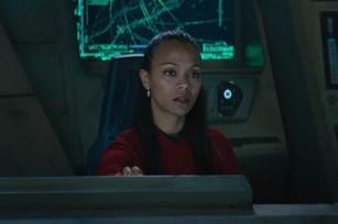 Uhura on the Franklin.