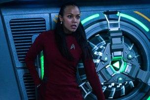 Uhura saves her friends.