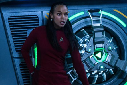 Uhura saves her friends.