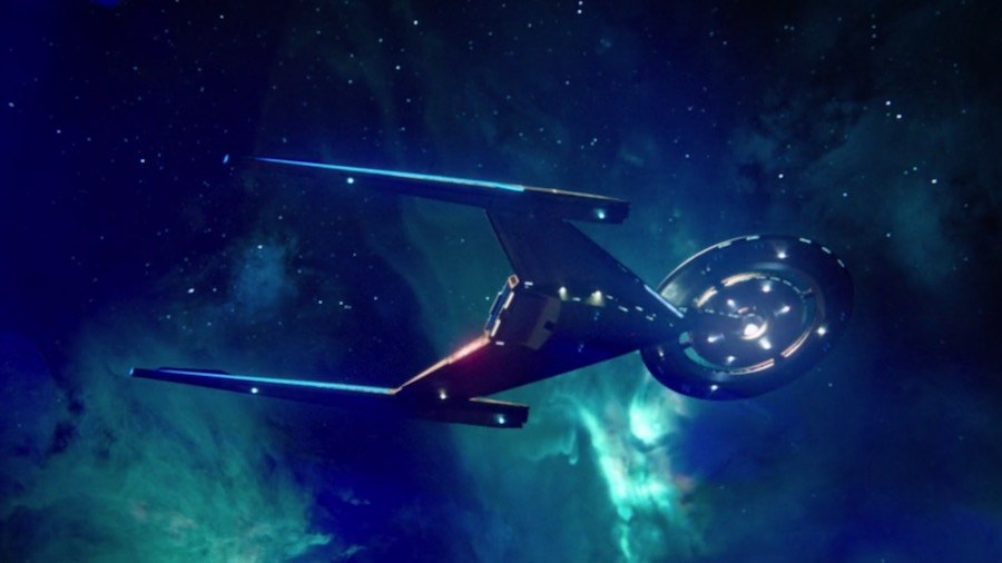 Whats Past Is Prologue - Discovery Soars Through Space