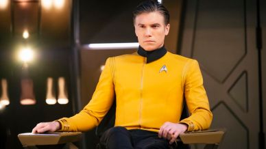 Captain Christopher Pike, Anson Mount