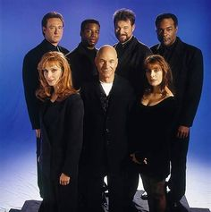 Star Trek The Next Generation Crew in Civilian Clothes