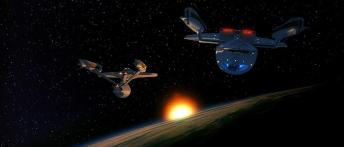 Star Trek VI The Undiscovered Country - Enterprise and Excalibur