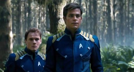 Anton Yelchin and Chris Pine Star Trek Beyond