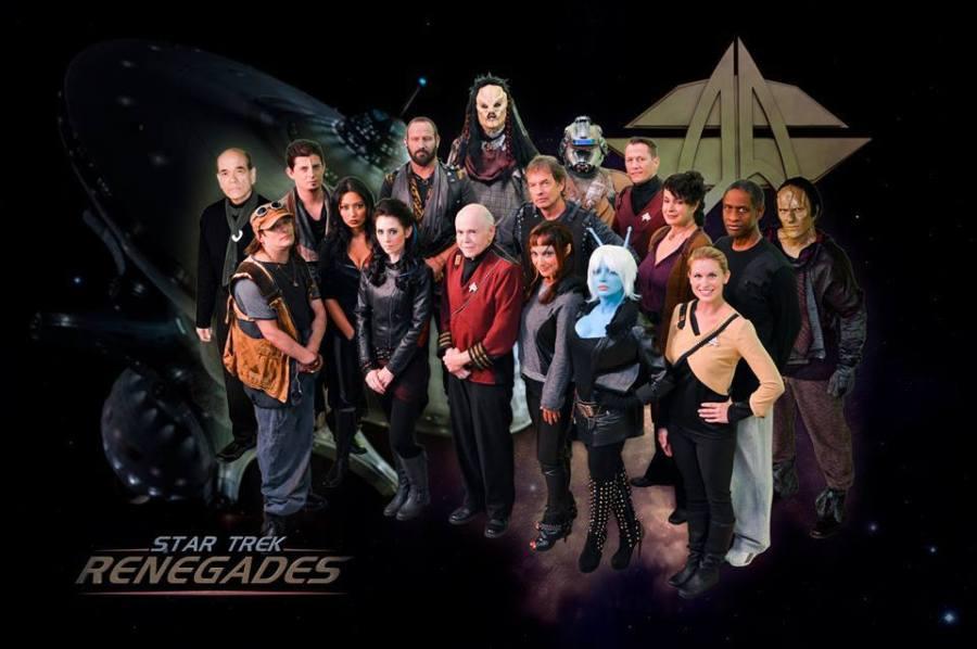 Star Trek Renegades Crew