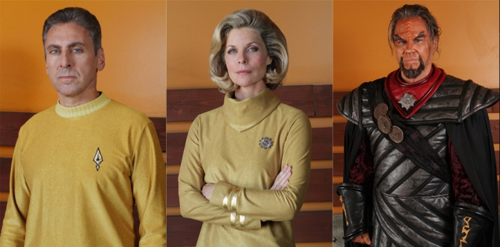 Star Trek Axanar - Alec Peters, Kate Vernon, Richard Hatch