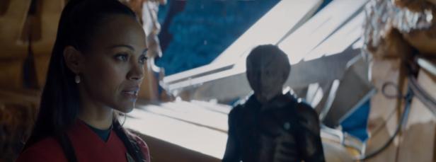 Uhura defies Krall.