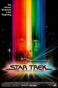 The official Star Trek: The Motion Picture promotional poster from 1977.