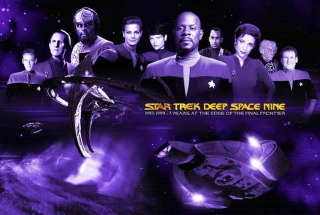 STDS9 S7 Crew with Jadzia