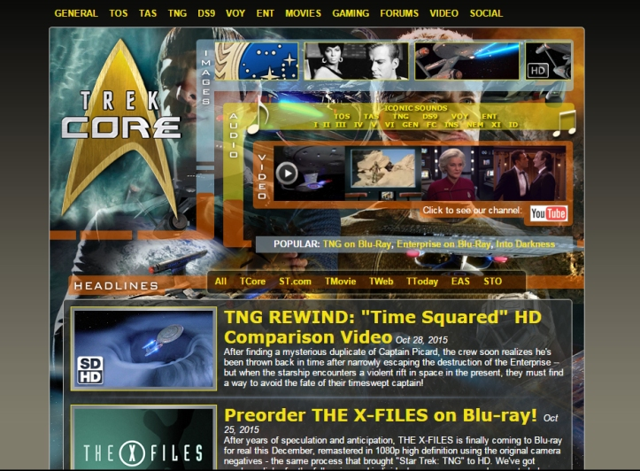 TrekCore Screenshot