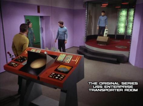 NCC1701 Kirk Era Transporter Room